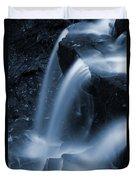 Triple Plunge Twilight Waterfall Duvet Cover
