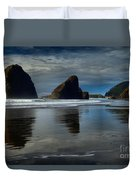 Triple Reflections Duvet Cover by Adam Jewell