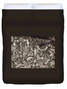 Tripping Through Bogomils Mind Duvet Cover