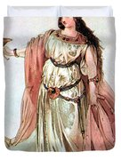 Tristan And Isolde, 1865 Duvet Cover