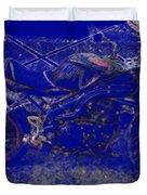 Triumph In Blue Duvet Cover