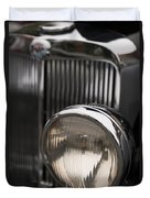 Triumph Roadster One Headlight Duvet Cover