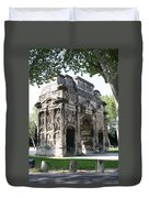 Triumphal Arch - Orange Provence Duvet Cover