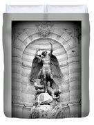 Triumphant Saint Michael Duvet Cover
