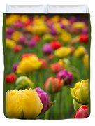 Triumphant Tulips Duvet Cover