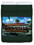 Trolley Stop Duvet Cover