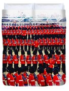 Trooping The Colour Duvet Cover