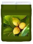 Tropical Almond Duvet Cover