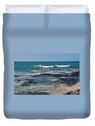 Tropical Beach Seascape Art Prints Duvet Cover