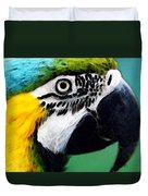 Tropical Bird - Colorful Macaw Duvet Cover
