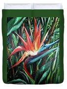Tropical Bird  Duvet Cover