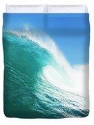 Tropical Blue Ocean Wave Duvet Cover