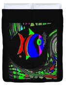 Tropical Cave Fish 1 Duvet Cover