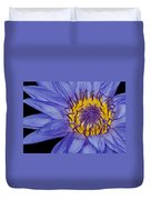 Tropical Day Flowering Waterlily Duvet Cover