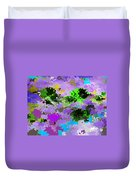 Tropical Fish Abstraction Duvet Cover