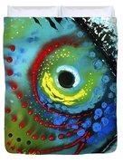Tropical Fish - Art By Sharon Cummings Duvet Cover