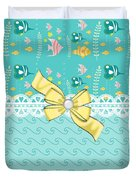 Colorful Tropical Fish Duvet Cover
