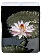 Tropical Floral Elegance Duvet Cover