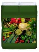 Tropical Fruits Duvet Cover