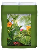 Tropical Garden Duvet Cover
