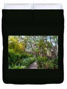 Tropical Garden. Mauritius Duvet Cover