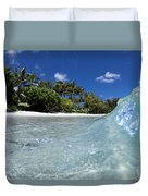 Tropical Glass Duvet Cover