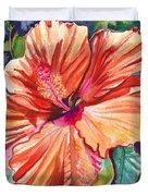 Tropical Hibiscus 5 Duvet Cover