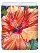 Tropical Hibiscus 5 Duvet Cover
