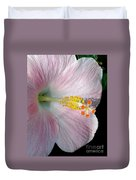 Tropical Hibiscus Duvet Cover