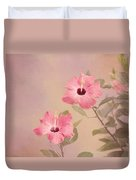 Tropical Hibiscus Duvet Cover by Kim Hojnacki