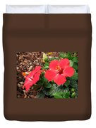 Tropical Hibiscus - Starry Wind 01 Duvet Cover
