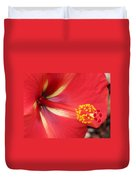 Tropical Hibiscus - Starry Wind 04 Duvet Cover
