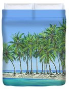 Tropical Lagoon Duvet Cover