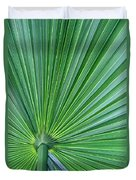 Tropical Leaf Duvet Cover