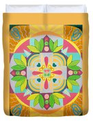 Tropical Mandala Duvet Cover