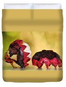 Tropical Mangosteen Duvet Cover
