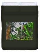 Tropical Paradise Falling Waters Buffalo Botanical Gardens Series   Duvet Cover