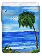 Tropical Path Duvet Cover