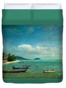 Tropical Seas Duvet Cover
