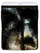 Tropical Silhouette Duvet Cover