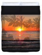 Tropical Spirits - Palm Tree Art By Sharon Cummings Duvet Cover