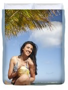 Tropical Vacationer Duvet Cover