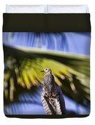 Tropical Woodpecker Duvet Cover