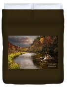 Trout Fishing Duvet Cover by Tamyra Ayles