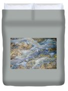 Trout Pond Abstract Duvet Cover
