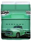 Truck In Tailgate Duvet Cover