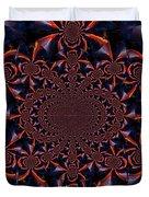 Trucker Sunset Illusion 2 Duvet Cover