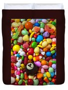 Truffle And Candy Duvet Cover