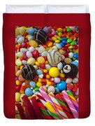 Truffles And Assorted Candy Duvet Cover