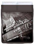 Trump Tower Duvet Cover by Dave Bowman